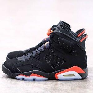 "Jordan Retro 6 ""Black Infared"""